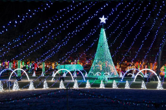 Rhema Christmas Lights, Broken Arrow - 17 Best Christmas Light Displays In Oklahoma 2016