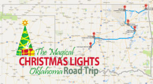 The Christmas Lights Road Trip Through Oklahoma That's Nothing Short Of Magical