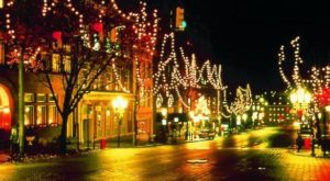 The One Town In Pennsylvania That Turns Into A Winter Wonderland Each Year