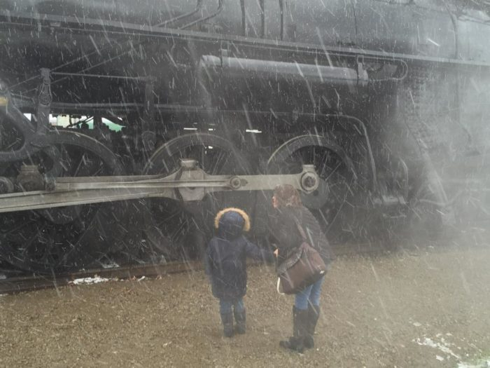 Owosso Michigan Train Expo The Pere Marquette 1225 aka The Polar ...