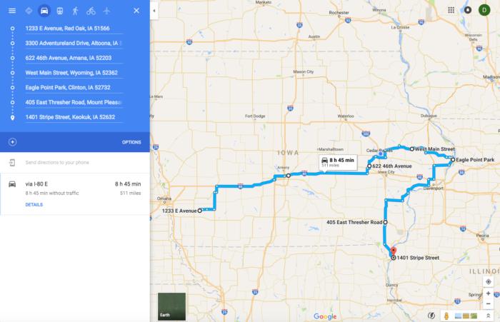 The Magical Christmas Lights Road Trip Through Iowa