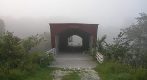 The Story Behind This Haunted Covered Bridge In Iowa Is Truly Disturbing