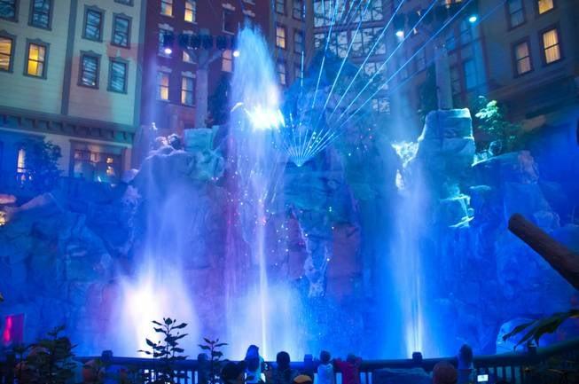 Mystic Falls Laser Light Show