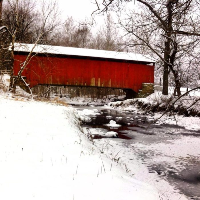This Winter Covered Bridge Festival May Be The Best