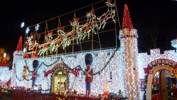 christmas fantasy with lights storybook land 6415 e black horse pike egg harbor township