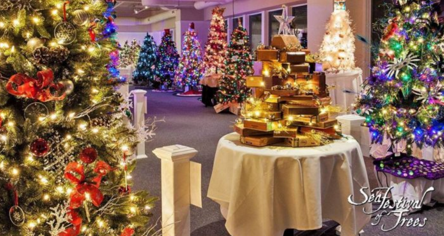 You Will Love The Epic Sea Festival Of Christmas Trees In