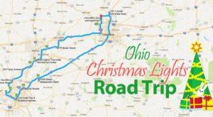 The Christmas Lights Road Trip Through Ohio That's Nothing Short Of Magical