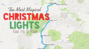 The Christmas Lights Road Trip Through Alaska That's Nothing Short Of Magical