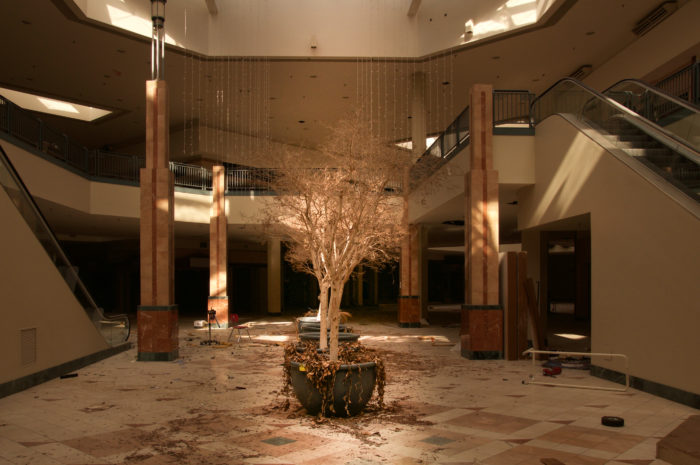 step inside the abandoned mall thats been left to decay