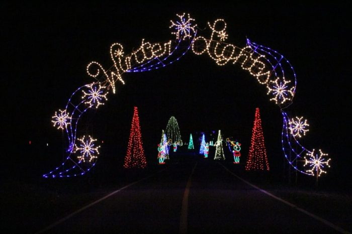winter lights at seneca creek state park - Christmas Lights In Dc