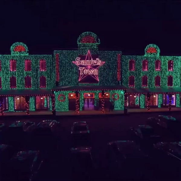santas wonderland college station - Christmas Lights College Station