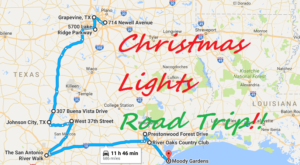 The Christmas Lights Road Trip Through Texas That's Nothing Short Of Magical