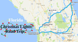 The Christmas Lights Road Trip Through Florida That's Nothing Short Of Magical