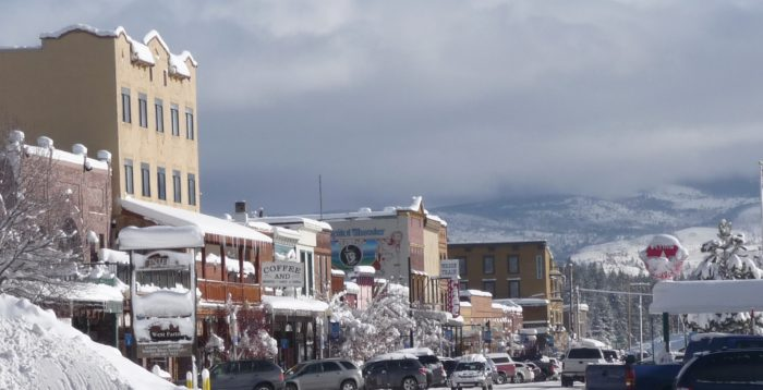 Truckee In Northern California Is A Winter Wonderland At