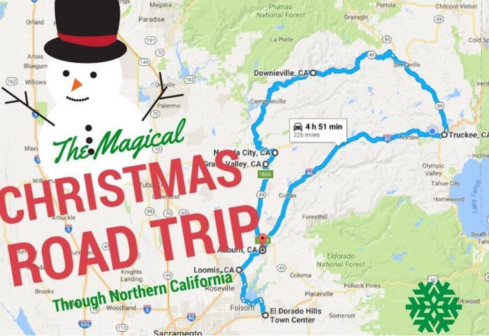the christmas lights road trip through northern calfornia thats nothing short of magical