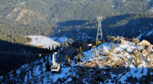 This Scenic Tram Ride In Northern California Will Take You To The Top Of The World