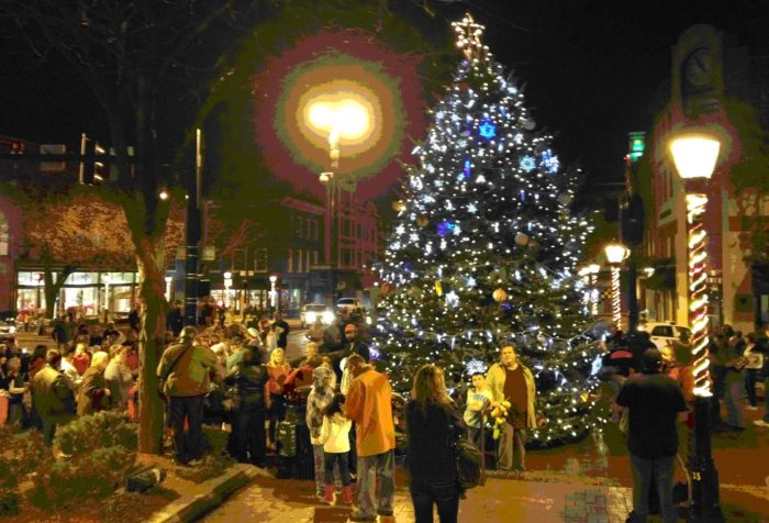 12 Best Christmas Main Streets In Maryland 2016