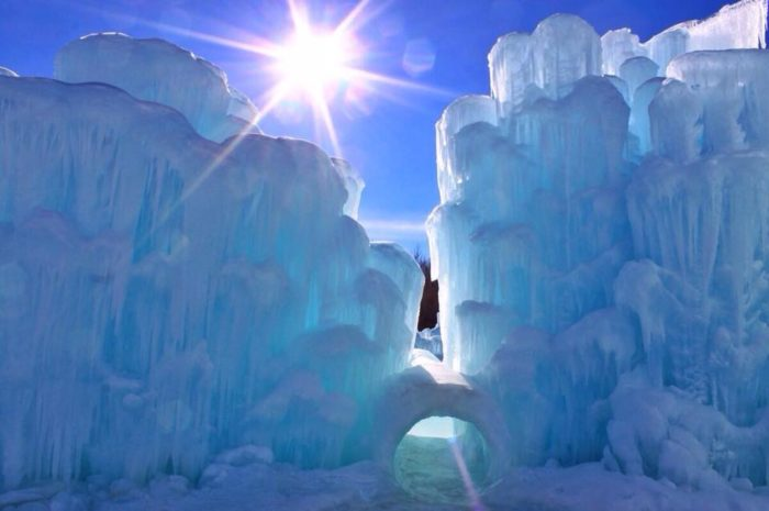 The Lincoln Ice Castles In New Hampshire Are Straight From
