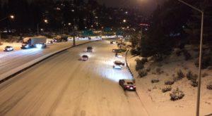 Thousands Stranded As Winter Storm Wallops Portland