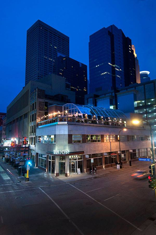 Union Restaurant Has A Rooftop Patio You Can Enjoy In The Winter