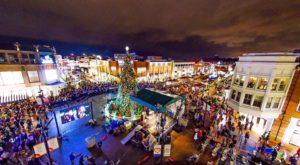 Christmas Towns Crocker Park