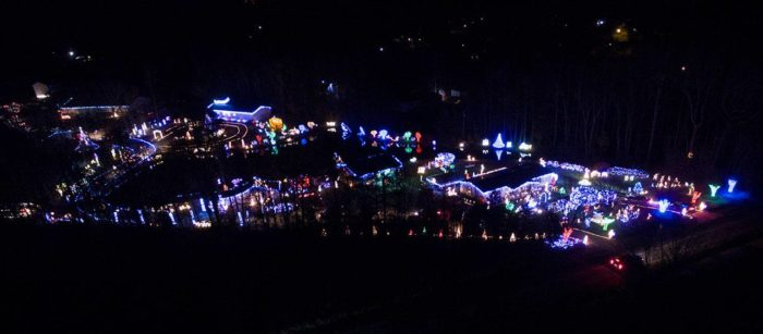 8 enchanting christmas light displays in north carolina that are so worth the drive - Christmas Light Show Raleigh Nc