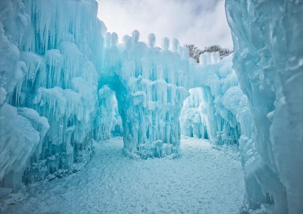 The Stillwater Ice Castle In Minnesota Is Like Something