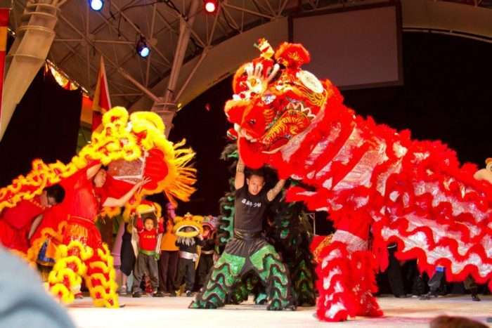 Chinese New Year in the Desert