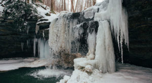 6 Gorgeous Frozen Waterfalls Around Pittsburgh That Must Be Seen To Be Believed
