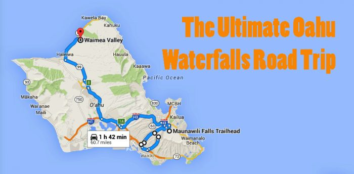 Drive Time Locations >> 10 Unforgettable Road Trips To Take In Hawaii Before You Die