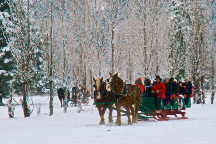 Sleigh ride: Idaho Christmas and winter bucket list