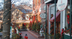 Have An Old World Christmas At This Charming Historic Village In Georgia