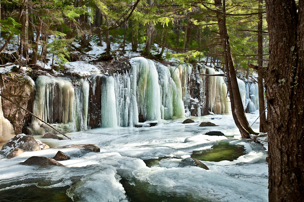 11 Must Visit Frozen Waterfalls In New Hampshire