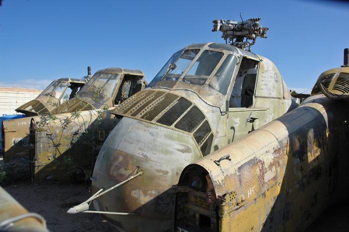 Visit This Airplane Boneyard In Tucson Arizona