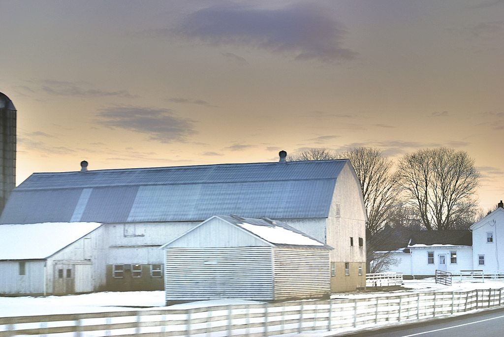 The Most Scenic Wintertime Drive In Ohio Amish Country Byway