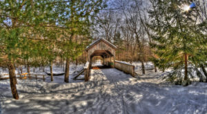 9 Picturesque Trails In Connecticut That Are Perfect For Winter Hiking
