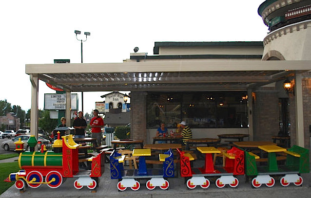 Dairy Keen Restaurant In Heber Utah A Unique Train Themed