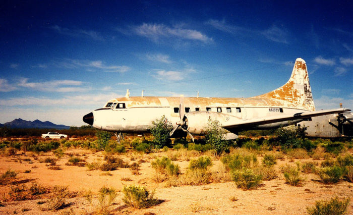 Visit This Airplane Boneyard In Tucson Arizona