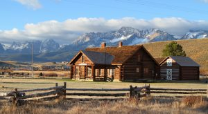 These 11 Historic Log Cabins In Idaho Are Too Quaint For Words