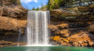 7 Gorgeous Waterfalls Hiding In Plain Sight Near Nashville With No Hiking Required