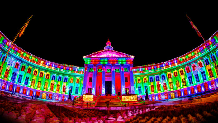 denver city and county building - Christmas Lights In Denver