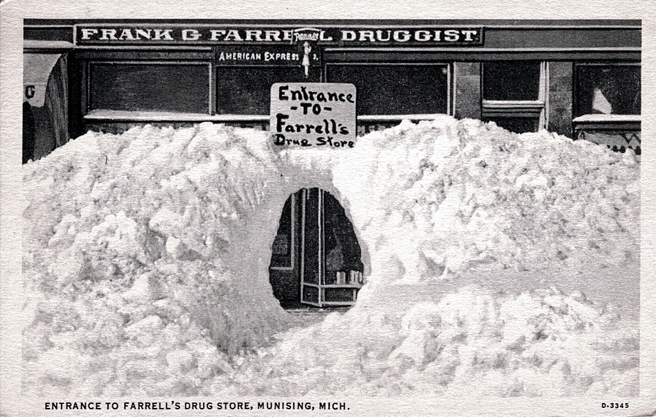 Houston Texas Snow >> The Frightening 1967 Blizzard That Took Michigan By Surprise