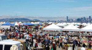 Everyone Near San Francisco Should Visit This Epic Flea Market At Least Once