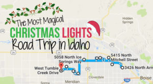The Christmas Lights Road Trip Through Idaho That's Nothing Short Of Magical