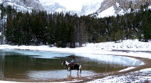 The Winter Horseback Riding Trail In Idaho That's Pure Magic