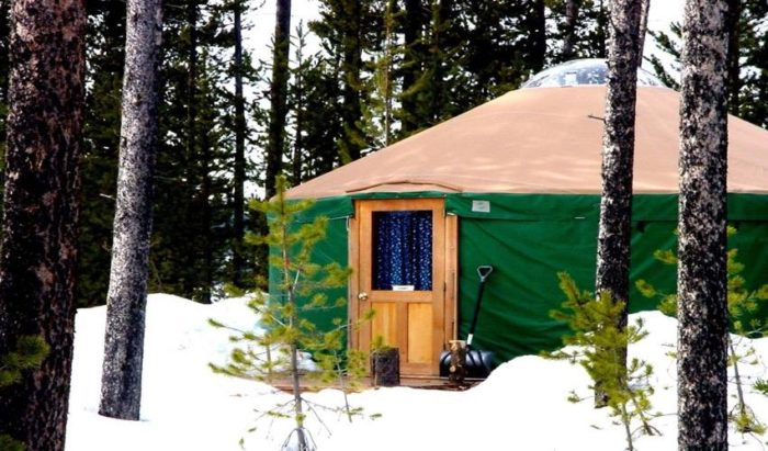 10 Uniqely Gorgeous Backcountry Yurts For Rent In Idaho