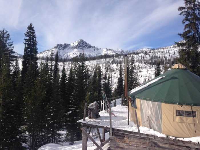 Idaho Backcountry and Luxury Yurts