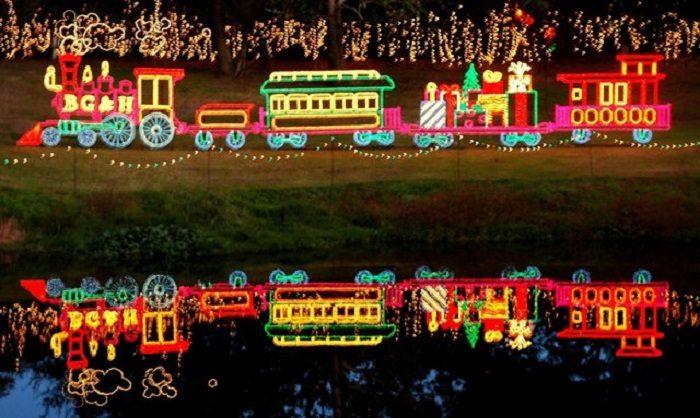 Magic Christmas In Lights at Alabamas Bellingrath Gardens
