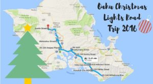 The Christmas Lights Road Trip Through Hawaii That's Nothing Short Of Magical