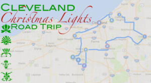 The Christmas Lights Road Trip Around Cleveland That's Nothing Short Of Magical